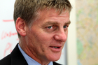 Finance minister Bill English. Photo / Glenn Taylor