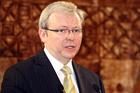 Former Australian Prime Minister Kevin Rudd. Photo / NZPA File