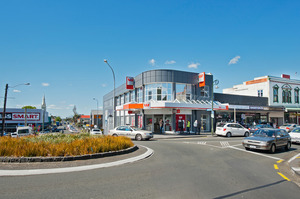 Westpac Bank in Onehunga is part of the Bayley's latest Greater Auckland auction portfolio.