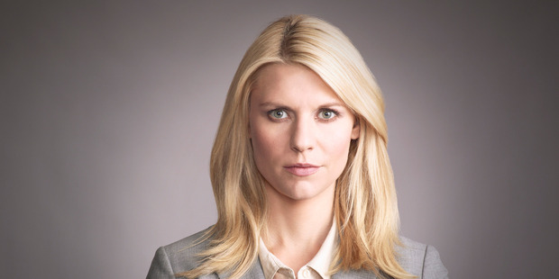 Claire Danes won an Emmy for her performance in Homeland. Photo / Supplied