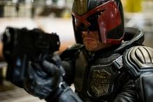 Kiwi actor Karl Urban as supercop Judge Dredd. Photo / Hoyts