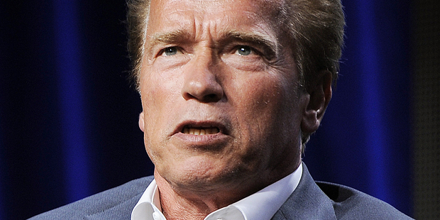 Arnold Schwarzenegger's tell-all memoir details his affair with a housekeeper. Photo / AP