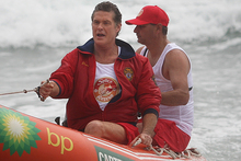 David Hasselhoff during his New Zealand visit in 2011. Photo / Sam Ackland
