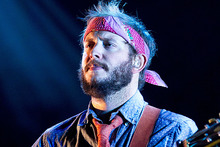 Justin Vernon says Bon Iver will be taking a lengthy break. Photo / AP