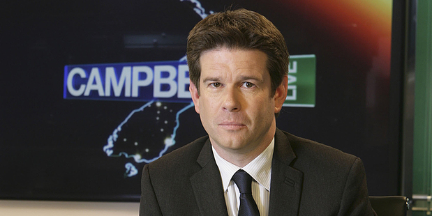John Campbell from Campbell Live. Photo / Supplied