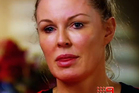 Charlotte Dawson during her interview with 60 Minutes about online bullying. Photo / YouTube
