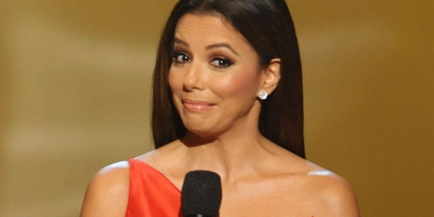 Eva Longoria is due in New Zealand next week. Photo / AP