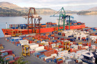 NZ exports across the Tasman were 17 per cent lower in value last month than in August 2011. Photo / Christchurch Star