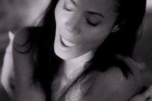 Jada Pinkett Smith as she appears in the video for Nada Se Compara. Photo / Vimeo
