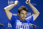 James Franco is releasing his debut album, under the name Daddy. Photo / AP
