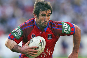 Andrew Johns. Photo / Getty Images