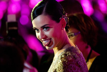 Katy Perry has been named Billboard's Woman of the Year. Photo / AP