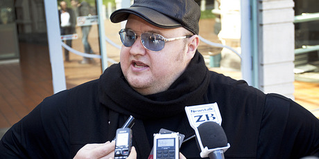 Kim Dotcom has been suggested as a replacement for Mark Sainsbury on Close Up. Photo / Sarah Ivey