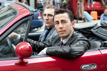 Paul Dano and Joseph Gordon-Levitt star in a scene from Looper. Photo / AP