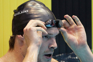 Olympic breaststroker Glenn Snyders is circling the globe to kick-start his plan to get on the Rio podium in four years' time. Photo / Getty Images.