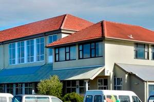 The former St Patrick's Primary School in Melbourne St, South Dunedin. Photo / Gerard O'Brien.