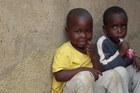 Two young KwaMashu children. Photo / P.K Stowers
