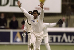 Wasim Akram. File photo / Getty Images