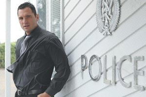 Regan Tamihere has gone from rugby to police work. Photo /  Ted Baghurst