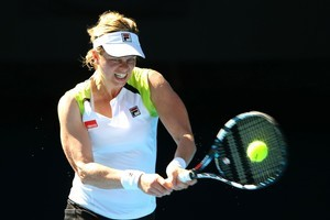 Kim Clijsters is through to her seventh Australian Open semifinal. Photo / Getty Images