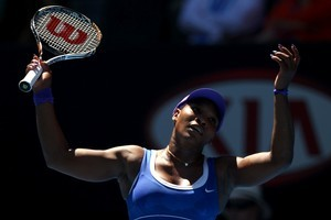 Serena Williams lost in straight sets to Ekaterina Makarova. Photo / Getty Images