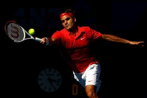 Roger Federer beat Juan Martin Del Potro in straight sets. Photo / Getty Images
