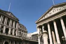 London's banks face falling trading revenue, attacks from politicians to reduce pay and more job cuts. Photo / Thinkstock