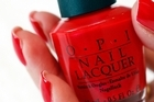 OPI Red is a favourite in NZ. Photo / Sarah Ivey