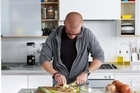 Heston Blumenthal presents tips to make sophisticated food achievable. Picture / Angela Moore