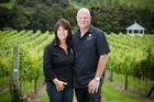 Jennimay and Ross Millar are producing award-winning wines  at Millars Vineyard. Photo / Natalie Slade