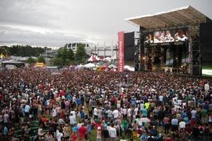 The Parachute festival. File photo / Joshua Finegan
