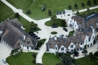 The sprawling $30 million mansion where he was arrested on Friday. He is thought to have spent about $4 million renovating it. Photo / Natalie Slade