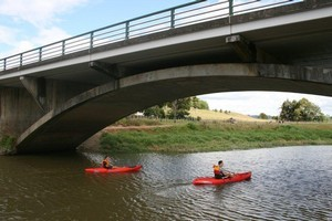 Clevedon has plenty to offer non-foodies with activities such as kayaking on the Wairoa River. Photo / Supplied