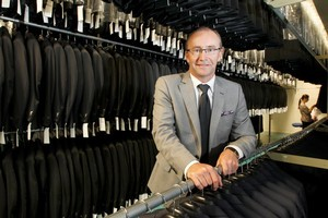 Rembrandt's managing director David Lyford says the suit maker is expanding throughout the country. Photo / Mark Mitchell