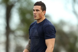 Sonny Bill Williams. File photo / Getty Images