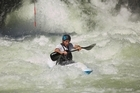 Mike Dawson battles the Kaituna River. Photo / Kenny Mutton, Action Photoz