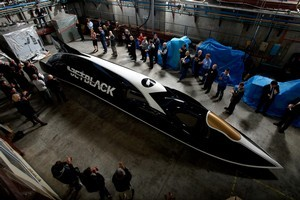 The colossal speeds Jetblack would reach present major physical and safety challenges. Photo / Industrial Research Limited