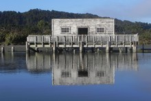 Okarito Lagoon was once the third-largest port on the West Coast. Photo / Jim Eagles