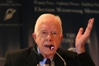 Jimmy Carter is derided as ineffectual by many in the US but has gone on to achieve much post-presidency as a humanitarian. Picture / AP