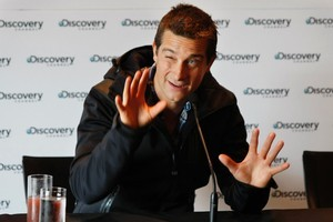 Adventurer Bear Grylls. Photo / NZ Herald