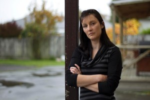 Earthquake survivor Amy Cooney's brother died in last year's Christchurch quake. Photo / Mark Mitchell