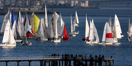 Yachties say extending the port any further would impinge on yacht racing and make the current a lot worse. Photo / Dean Purcell