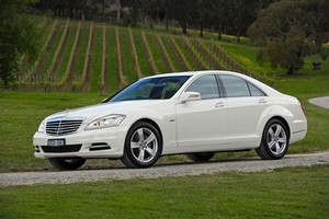 Mercedes-Benz S-Class. Photo / Supplied