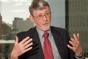 Former Treasury Secretary John Whitehead. Photo / Mark Mitchell