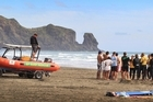 Police joined Surf life savers in the search for Zebedee Pua when he first went missing on Thursday. Photo / Greg Bowker