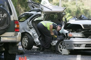 Inconsiderate or reckless driving behaviour has caused many fatal car accidents. Photo / Chris Skelton