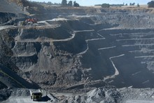 Oceana Gold mine in Reefton. Photo / Grant Bradley