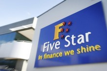 Five Star Finance owes creditors $43.8 million.