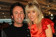 Mike Hosking and Kate Hawkesby.