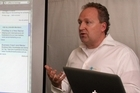 Rod Drury, founder and CEO of Xero. Photo / Hawkes Bay Today.